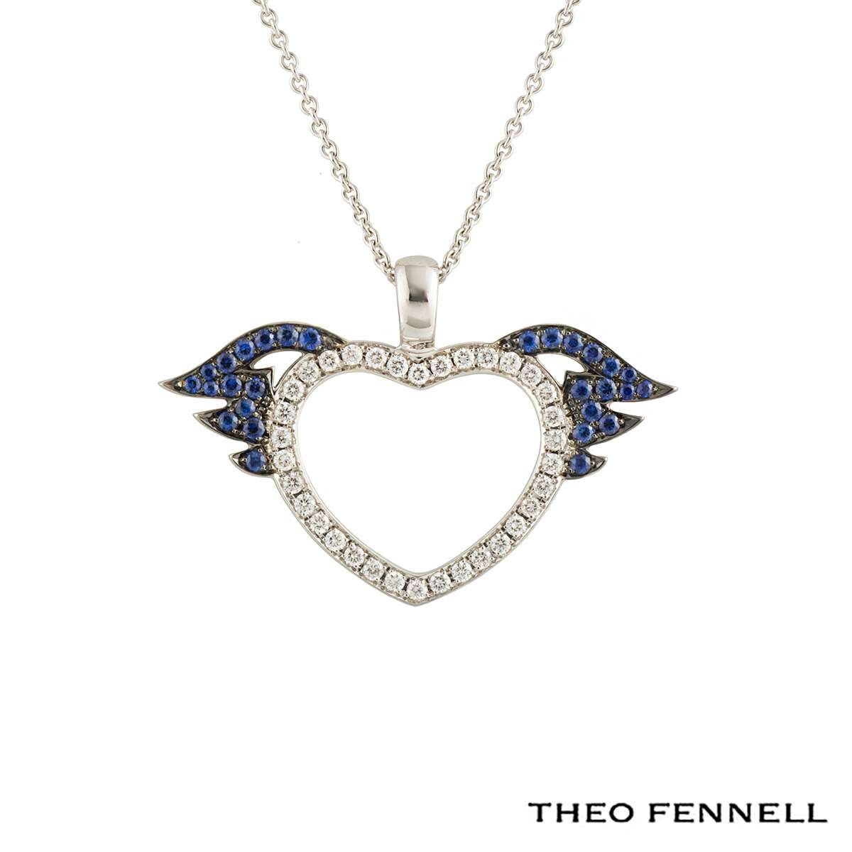 Theo Fennell Heart Pendant